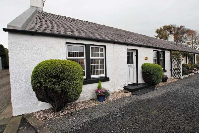 1 Bedroom Cottage House for sale in Crossburn Drive, Loans, South Ayrshire, KA10 7NA