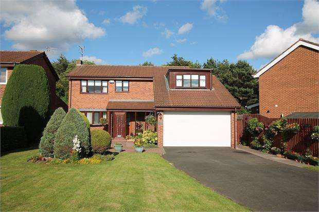 4 Bedrooms Detached House for sale in Silloth Drive, Usworth, Washington, tyne wear. NE37 1PZ