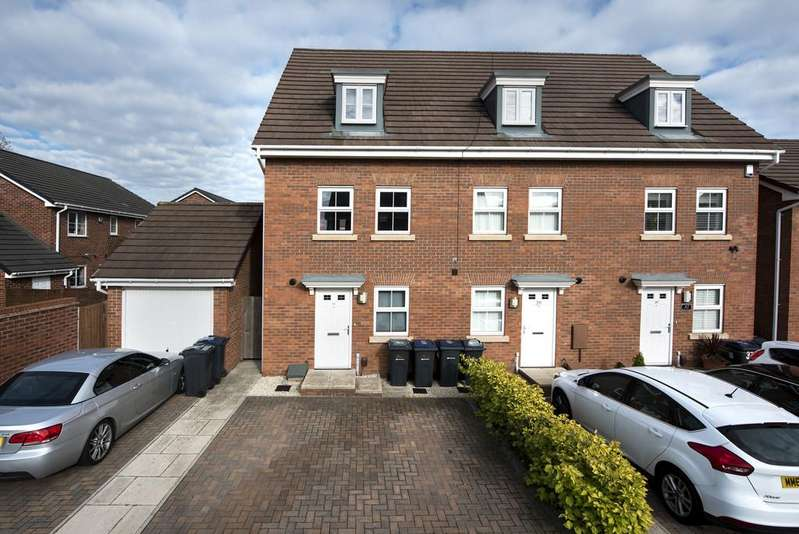 4 Bedrooms End Of Terrace House for sale in The Shardway, Shard End, Birmingham