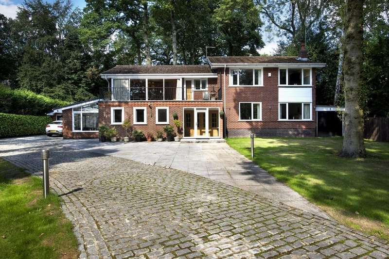 5 Bedrooms Detached House for sale in Hardwick Road, Streetly, Sutton Coldfield