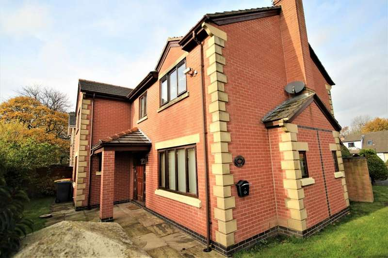 4 Bedrooms Terraced House for sale in Bowlers close, Fulwood, Preston, Lancashire, PR2