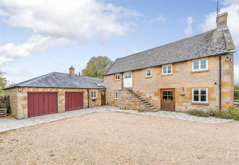 3 Bedrooms Barn Conversion Character Property for sale in Adlestrop, Moreton-in-Marsh, Gloucestershire
