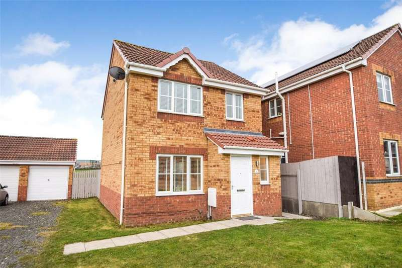3 Bedrooms Detached House for sale in Hazel Dene Way, Seaham, Co Durham, SR7