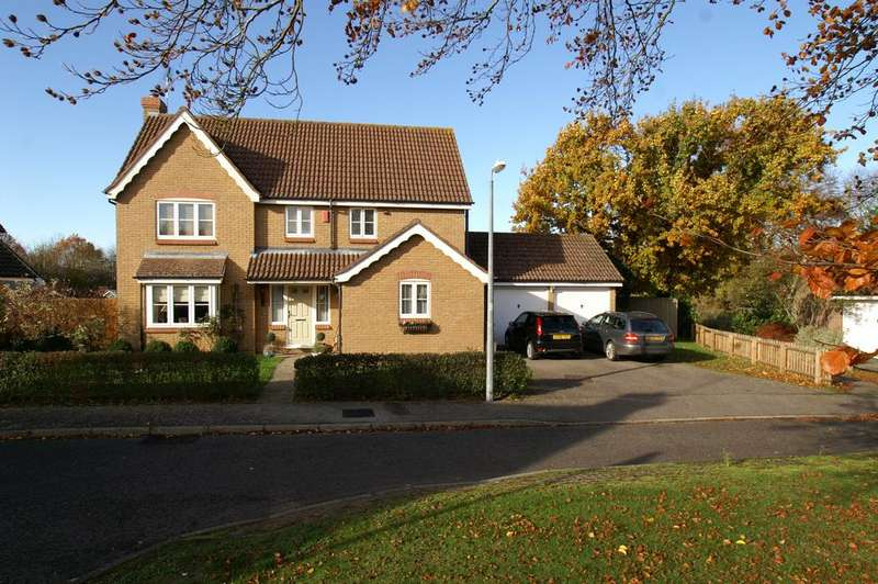 4 Bedrooms Detached House for sale in Whitlock Drive, Great Yeldham, CO9