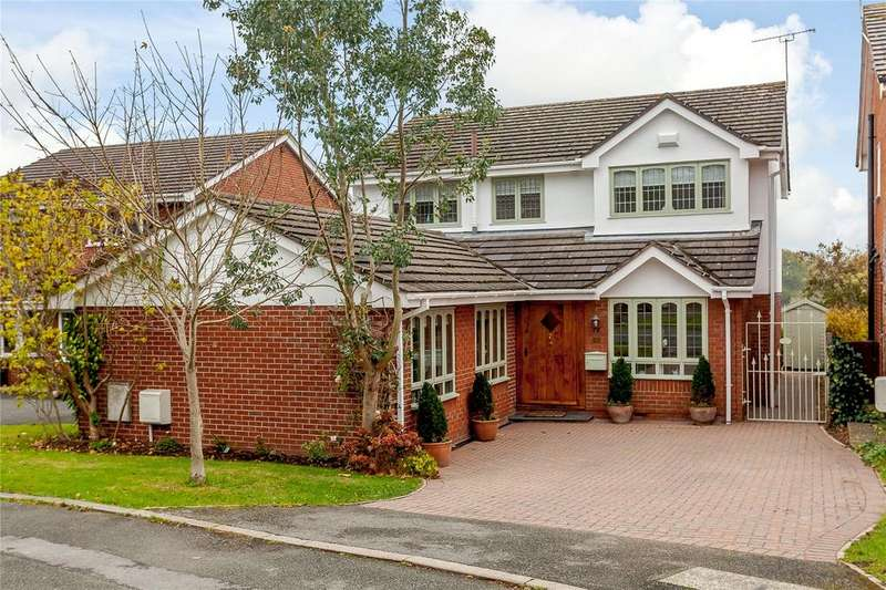 4 Bedrooms Detached House for sale in Vicarage Court, Holt, Wrexham