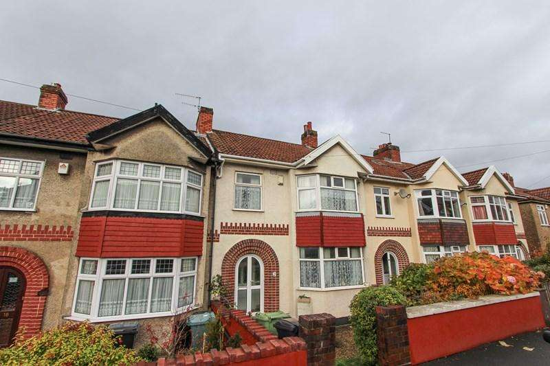 3 Bedrooms Terraced House for sale in Ravenhill Avenue, Knowle, Bristol