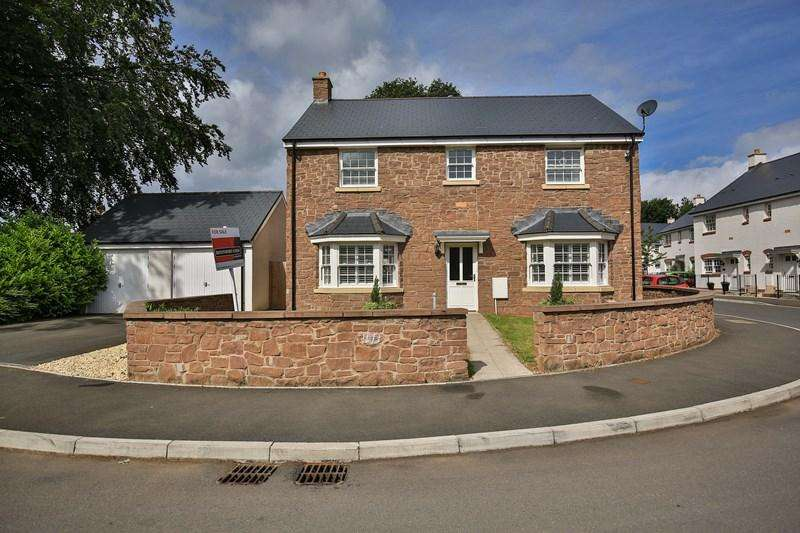 4 Bedrooms Detached House for sale in Crawshay Bailey Close, Gilwern, Abergavenny