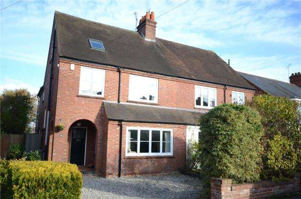4 Bedrooms Semi Detached House for sale in Sturges Road, Wokingham, Berkshire