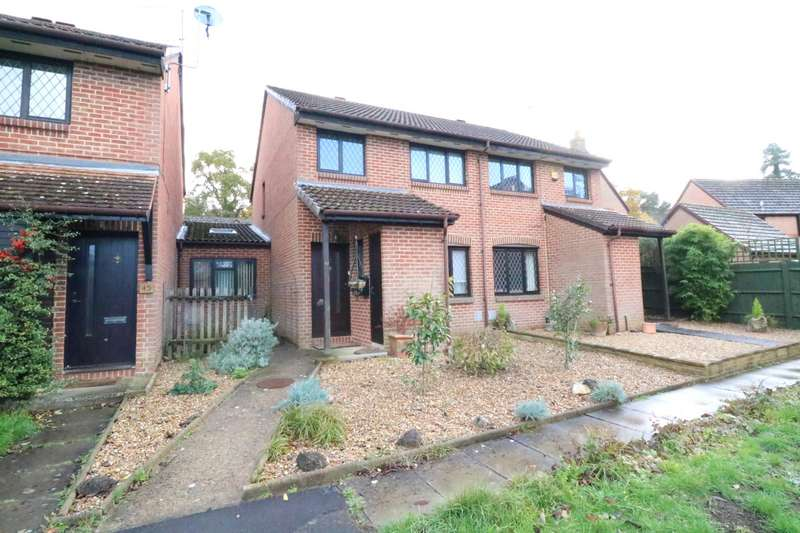 3 Bedrooms Semi Detached House for sale in Merryman Drive, Crowthorne, Berkshire, RG45