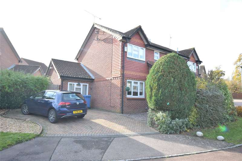 3 Bedrooms Semi Detached House for sale in Mary Mead, Warfield, Berkshire, RG42