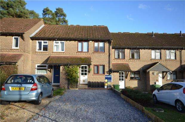 2 Bedrooms Terraced House for sale in Leicester, Bracknell, Berkshire