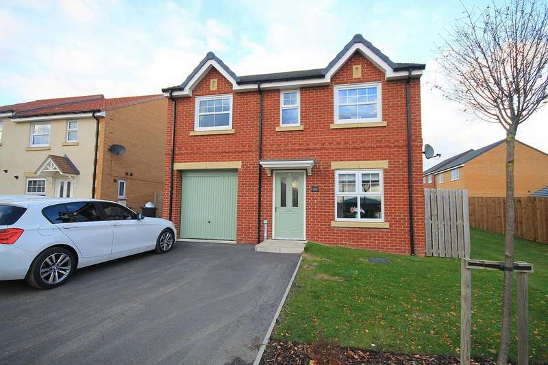 4 Bedrooms Detached House for sale in Lindsay Road, Ushaw Moor, Durham