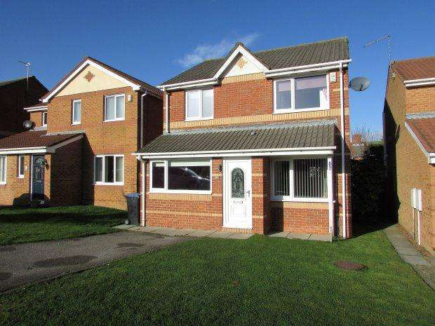 3 Bedrooms Detached House for sale in DAWLISH CLOSE, SEAHAM, SEAHAM DISTRICT