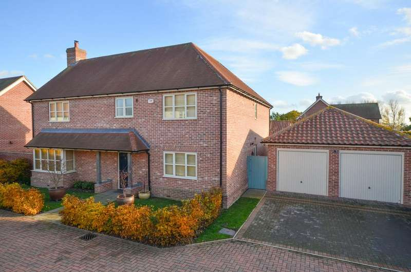 4 Bedrooms Detached House for sale in Salis Close, Tiptree, CO5 0FP