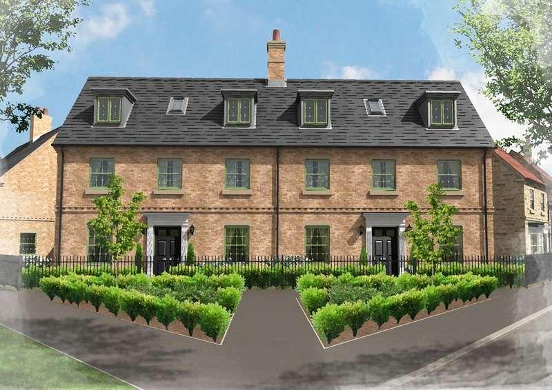 4 Bedrooms Semi Detached House for sale in Plot 8, 2 North Road, Brampton Park, Brampton, Huntingdon