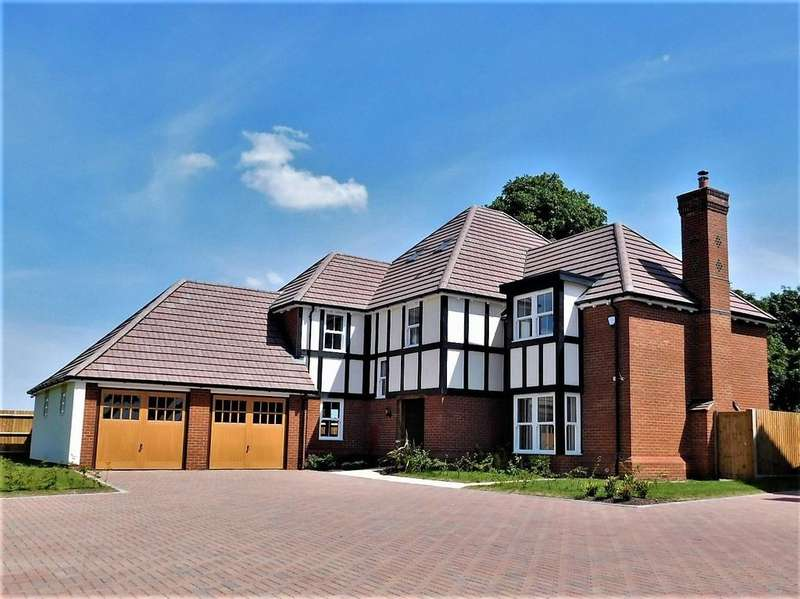 5 Bedrooms Detached House for sale in The Hazel, Wrestlers Grove, Langford, Beds SG18 9NX