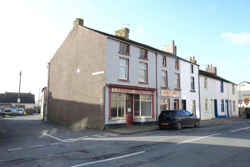 2 Bedrooms End Of Terrace House for sale in 12-14 Main Street, Haverigg, Millom, Cumbria