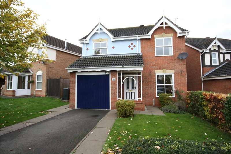 4 Bedrooms Detached House for sale in Eagle Drive, Sleaford, Lincolnshire, NG34