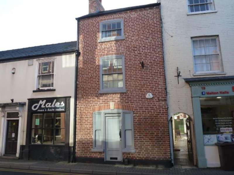 2 Bedrooms Unique Property for sale in Leicester Street, Melton Mowbray