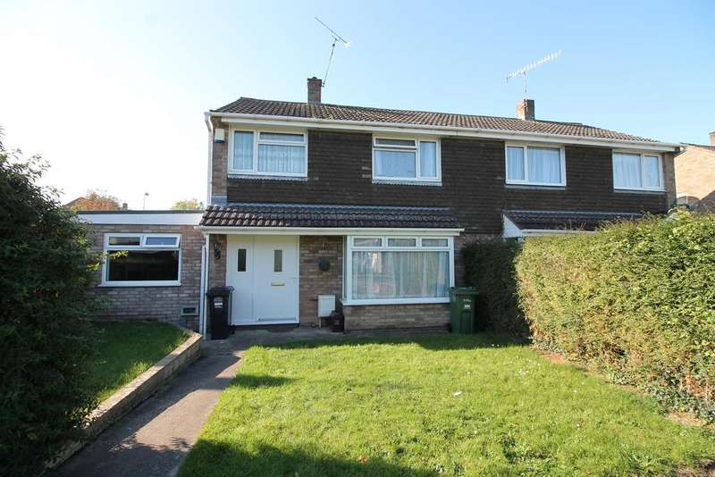 3 Bedrooms Semi Detached House for sale in Downland Close, Nailsea, North Somerset, BS48 2HZ