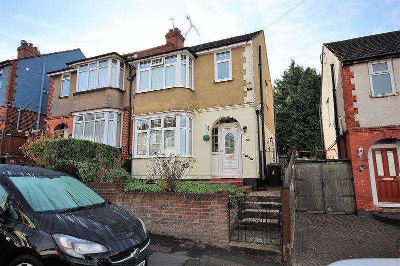 3 Bedrooms Semi Detached House for sale in Mountfield Road, Luton