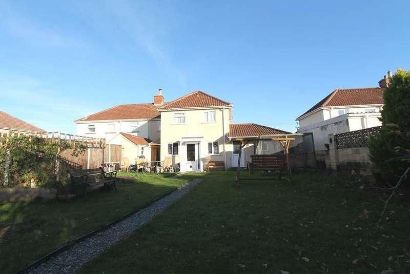 4 Bedrooms Semi Detached House for sale in Tennis Court Avenue, Paulton, Bristol