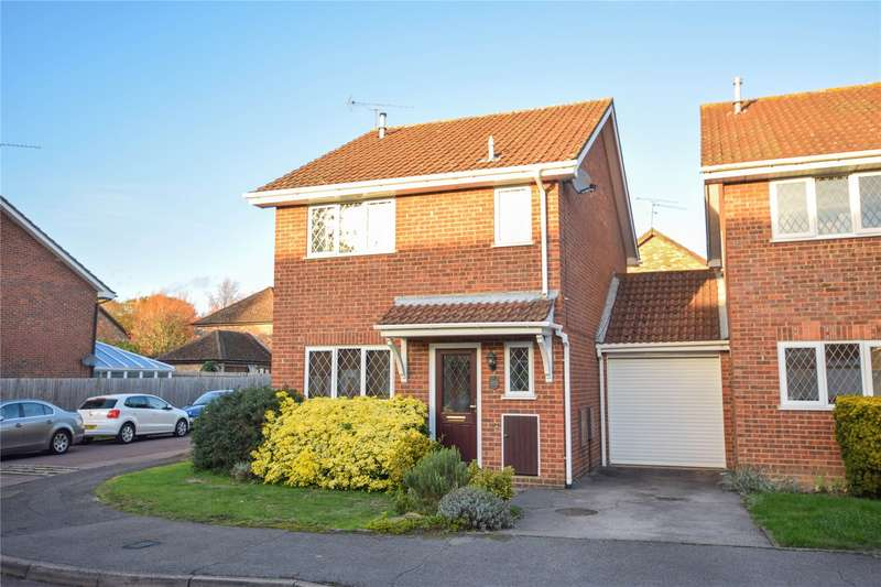 3 Bedrooms Link Detached House for sale in Radnor Road, Martins Heron, Bracknell, Berkshire, RG12