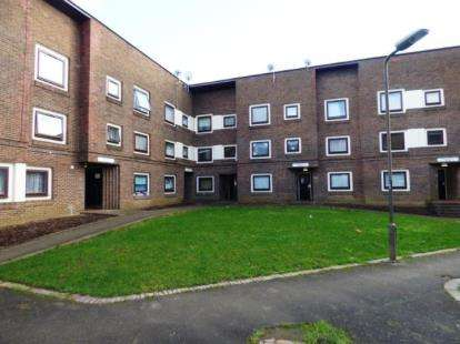 1 Bedroom Flat for sale in Granby Court, Bletchley, Milton Keynes