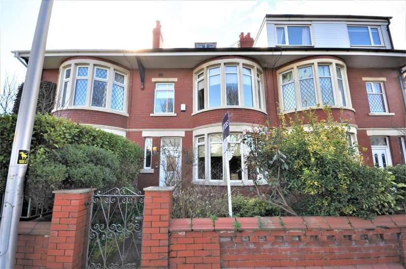 5 Bedrooms Terraced House for sale in Watson Road, South Shore, Blackpool, Lancashire, FY4 2DD