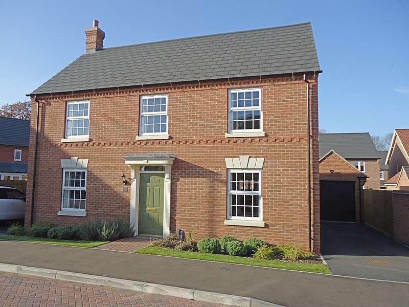 4 Bedrooms Detached House for sale in Skylark Fields, Churchfields, Nuneaton, CV10