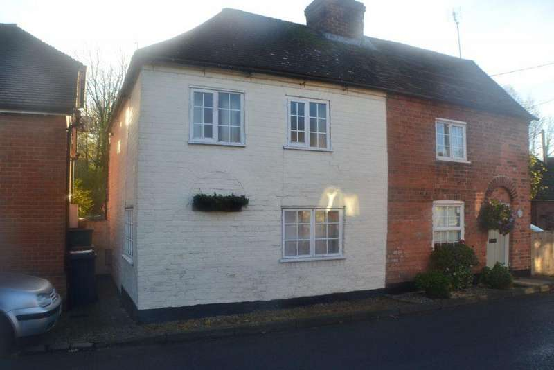 2 Bedrooms Semi Detached House for sale in Pound Cottages Woolhampton