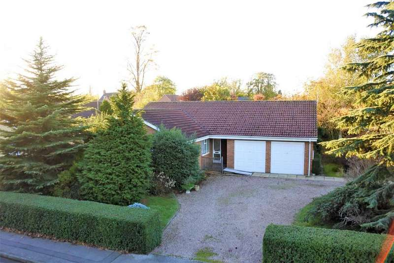 4 Bedrooms Detached Bungalow for sale in Hazelwood Drive, Gonerby Hill Foot, Grantham