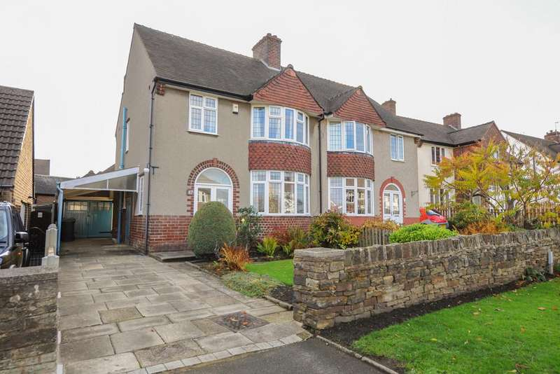 3 Bedrooms Semi Detached House for sale in Dukes Drive, Chesterfield
