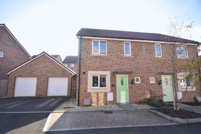 3 Bedrooms Semi Detached House for sale in Cowslip Crescent, Lyde Green