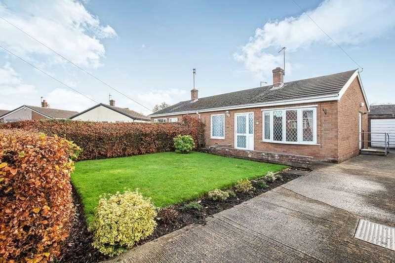 2 Bedrooms Semi Detached Bungalow for sale in Holker Close, Hoghton, Preston, PR5