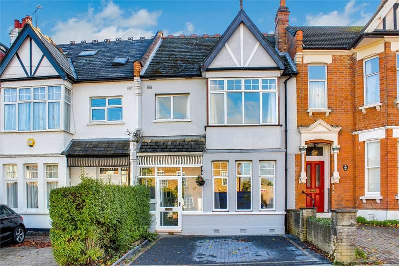 3 Bedrooms Terraced House for sale in Sutton Road, Muswell Hill, London