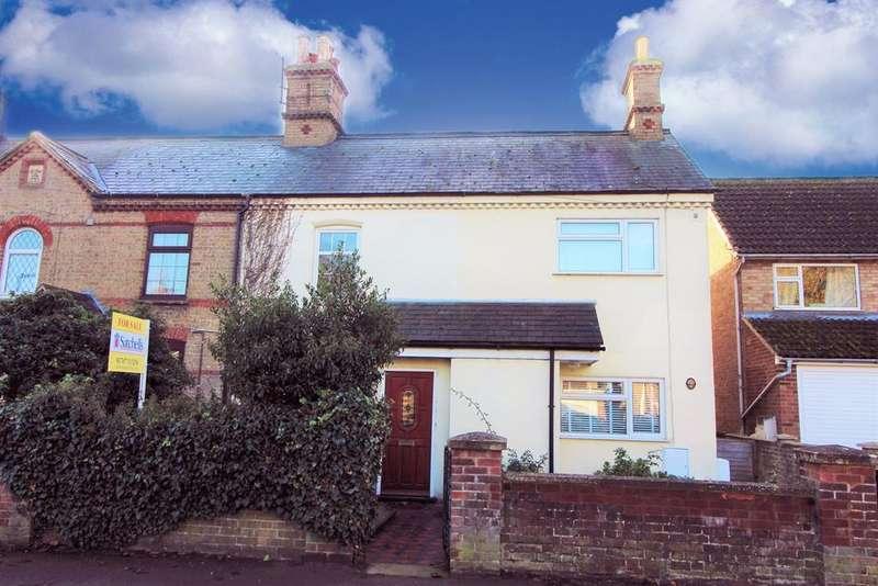 2 Bedrooms Terraced House for sale in Biggleswade Road, Upper Caldecote, Biggleswade, SG18