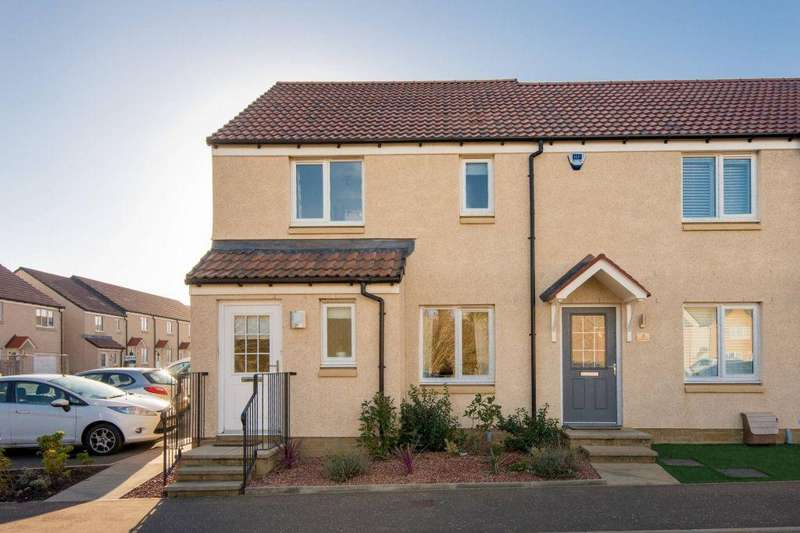 3 Bedrooms End Of Terrace House for sale in 1 Cranston Way, Haddington, EH41 3TJ