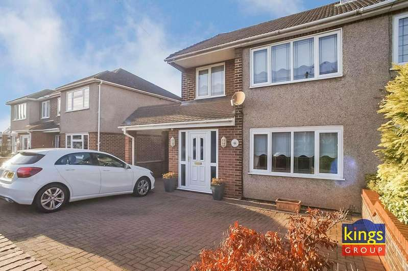 3 Bedrooms Semi Detached House for sale in Rosebank, Waltham Abbey - IMMACULATE CONDITION