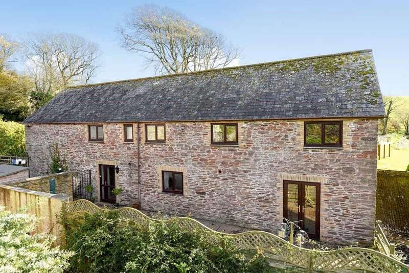 4 Bedrooms Barn Conversion Character Property for sale in Portlooe,Nr. Looe, Cornwall