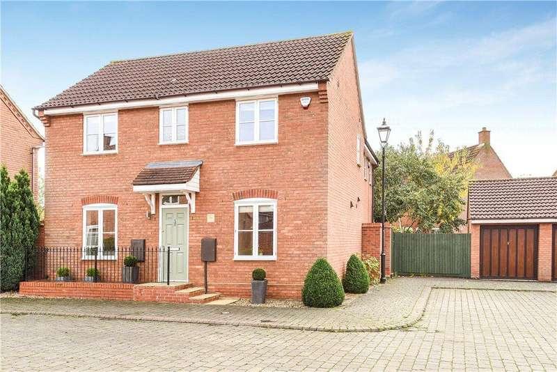 4 Bedrooms Detached House for sale in Savage Croft, Middleton, Milton Keynes, Buckinghamshire