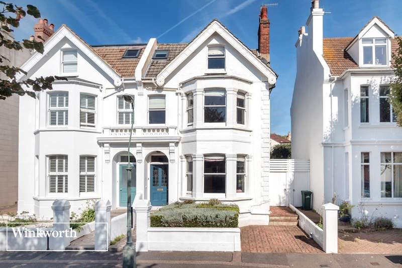 5 Bedrooms Semi Detached House for sale in Hartington Villas, Hove, East Sussex, BN3