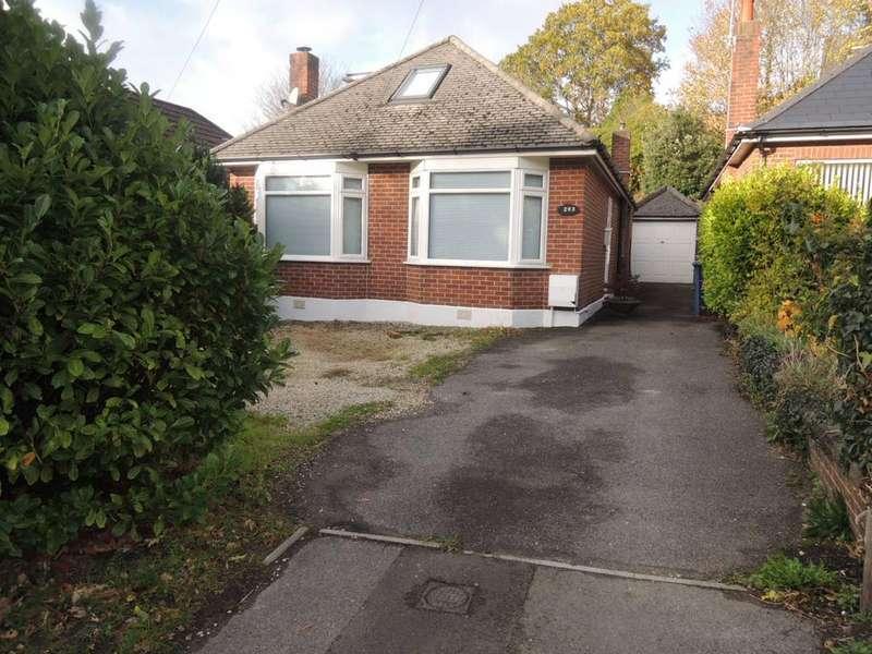 3 Bedrooms Detached Bungalow for sale in Alder Road, Wallisdown, Poole BH12