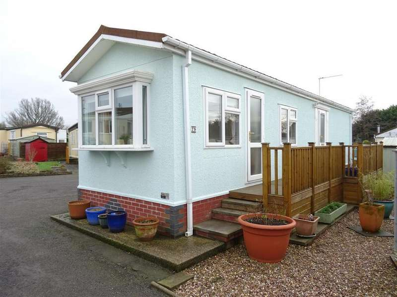 2 Bedrooms Park Home Mobile Home for sale in St. Christophers Road, Ellistown, Leicestershire