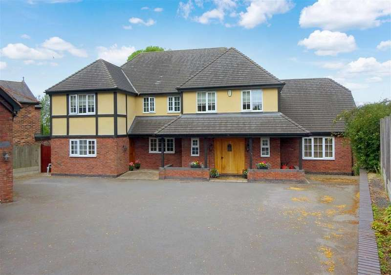 5 Bedrooms Detached House for sale in Pastures Hill, Littleover, Derby