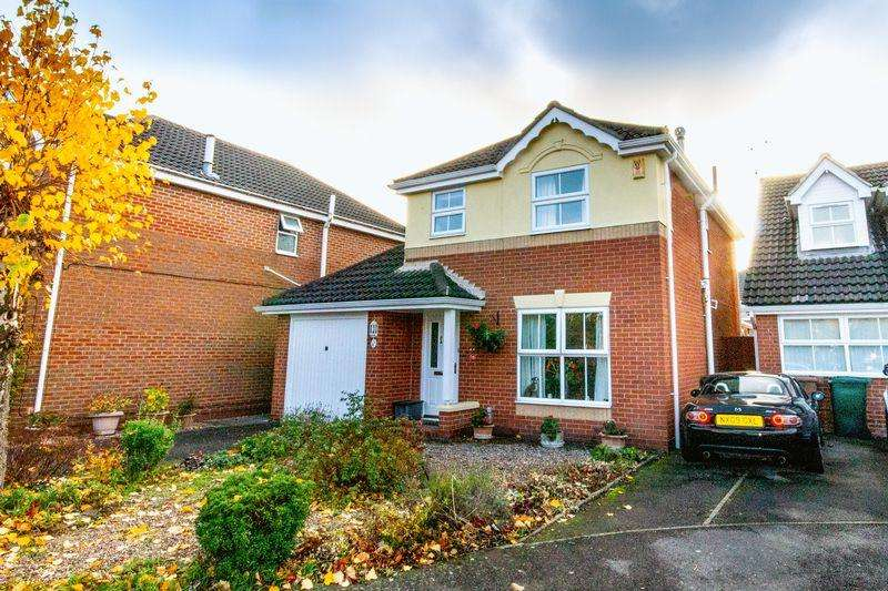 3 Bedrooms Detached House for sale in Windmill Close, Derby