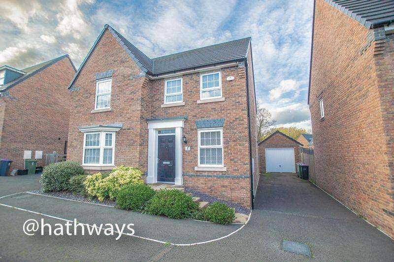4 Bedrooms Detached House for sale in Poppy Field Avenue, Llantarnam, Cwmbran