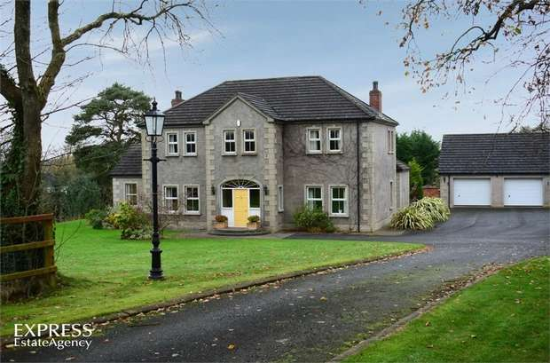 5 Bedrooms Detached House for sale in Legaterriff Road, Ballinderry Upper, Lisburn, County Antrim