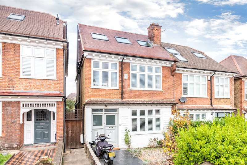 4 Bedrooms Semi Detached House for sale in Temple Sheen Road, East Sheen, SW14