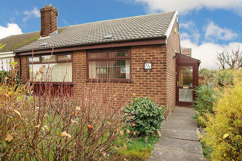 2 Bedrooms Semi Detached Bungalow for sale in Higher House Close, Chadderton